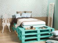 Sypialnia pomysłowej singielki