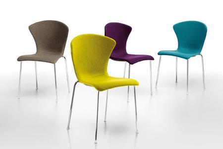 Nowoczesne krzesło Glossy INFINITI DESIGN