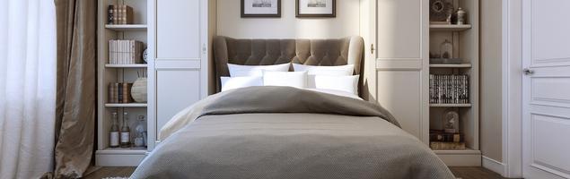 Przytulna sypialnia - elegancki wystrój sypialni