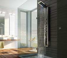 Designerskie urządzenia sanitarne w nowoczesnej aranżacji łazienki