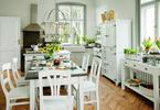 Meble kuchenne retro. Aranżacje kuchni otwartych